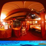 360 Degree Photo of inside a ship
