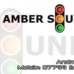 Amber Sounds Business Card