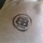 Binge Drinking Stamp