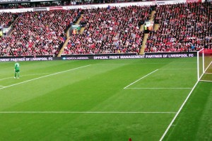Konica Minolta LED Banner at Liverpool FC