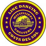 Mississippi Coasters Line Dancing Logo