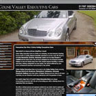 Colne Valley Executive Cars website